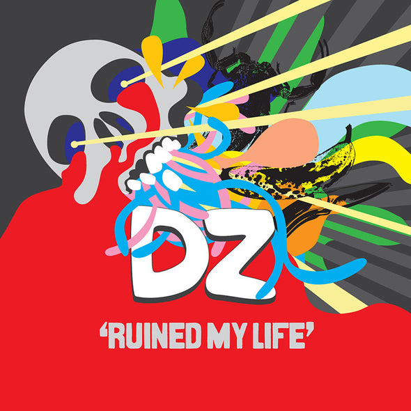 DZ Deathrays merch Ruined My Life (EP)