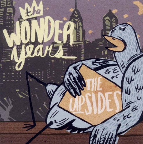 The Wonder Years Official Merch - The Upsides (CD) (406180315)