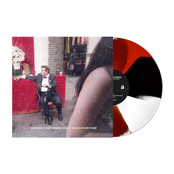 "Brave Faces Everyone 12"" Vinyl (Red, Black & White Pinwheel) // PREORDER"