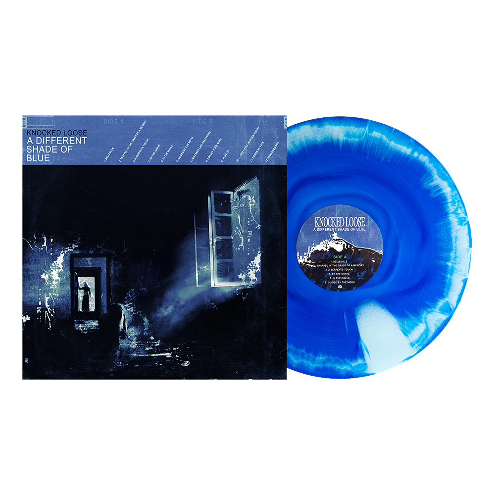 "A Different Shade of Blue 12"" Vinyl (Royal Blue & Baby Blue Aside/Bside)"