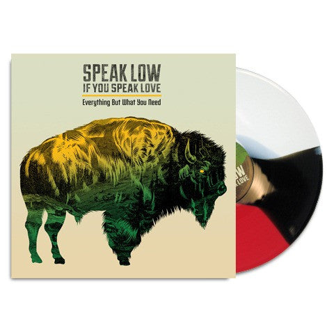 "Speak Low If You Speak Love Official Merch - Everything But What You Need (12"" Red, White, Black Vinyl)"