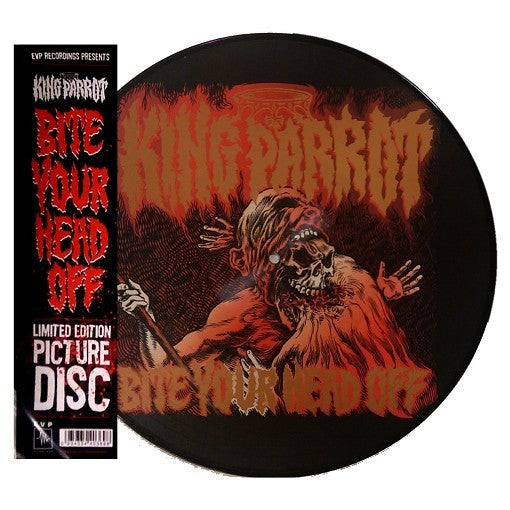 "King Parrot Official Merch - Bite your head off (12"" picture disk vinyl)"