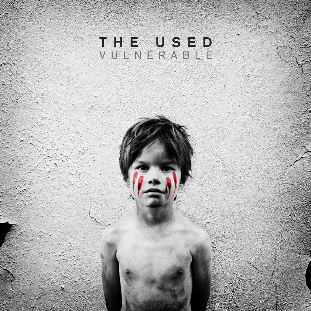 The Used Official Merch - Vulnerable (CD)