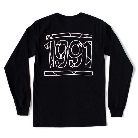 1991 Long Sleeve (Black)