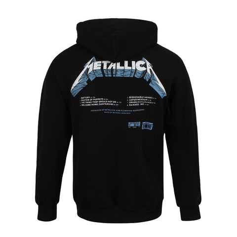 Master Of Puppets Tracks Hoodie (Black)