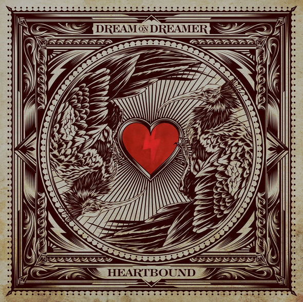 Dream On Dreamer Official Merch - Heartbound (CD)