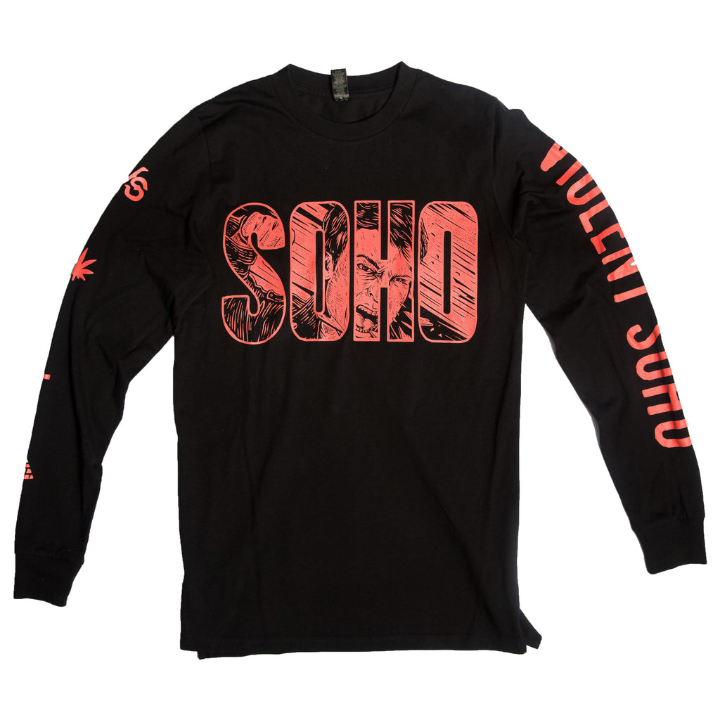 SOHO WACO Long Sleeve - Black