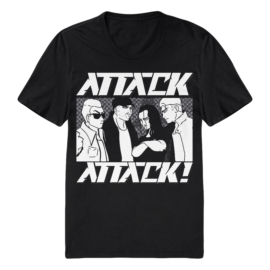 Anime Tee (Black/White)