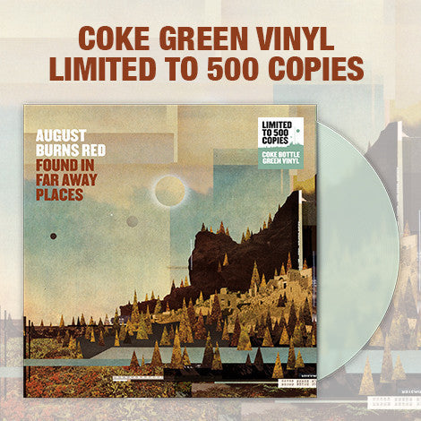 "August Burns Red Official Merch - Found In Far Away Places (12"" Coke Bottle Green Vinyl LP)"