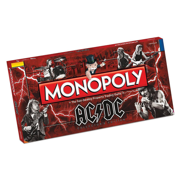 Monopoly AC/DC Collectors Edition Board Game