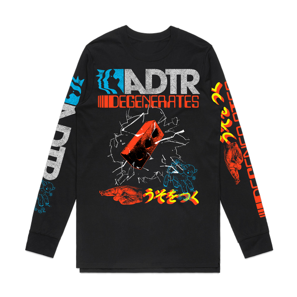 Degenerates Long Sleeve (Black) // PREORDER
