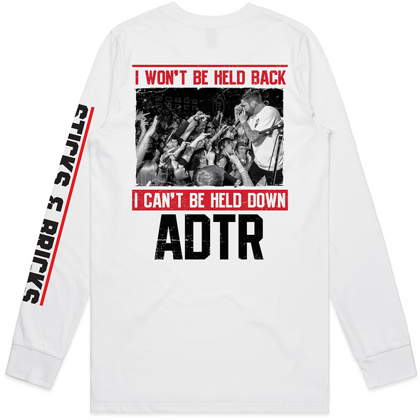 Sticks and Bricks Longsleeve (White)