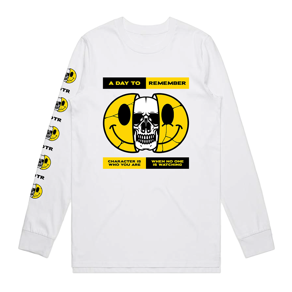 Smiley Longsleeve (White)