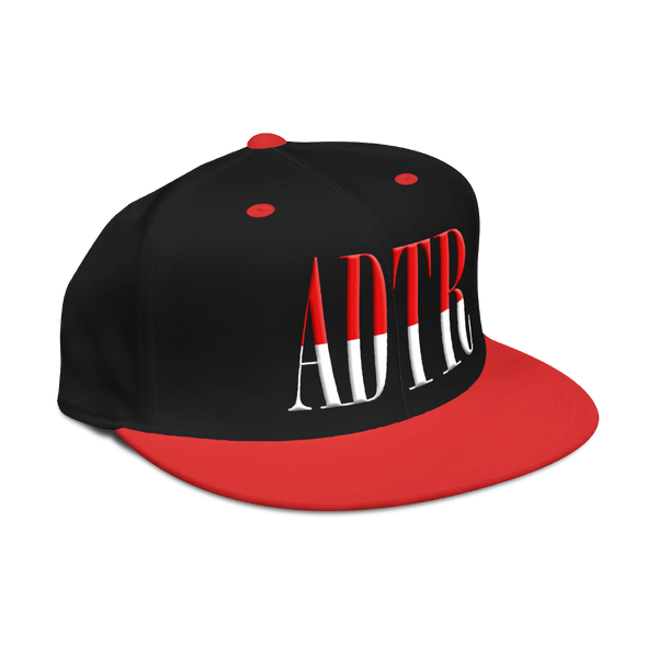 ADTR Snapback Cap (Black/Red)
