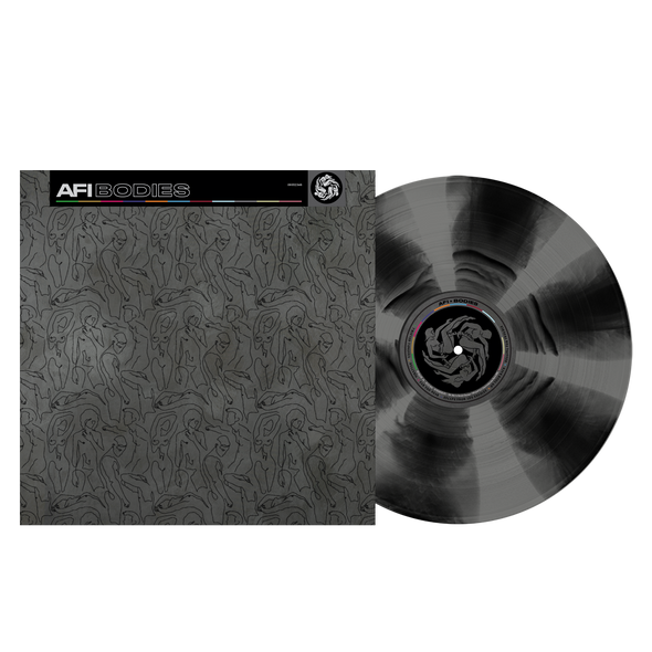 "Bodies 12"" Vinyl (Black & Grey Cornetto)"