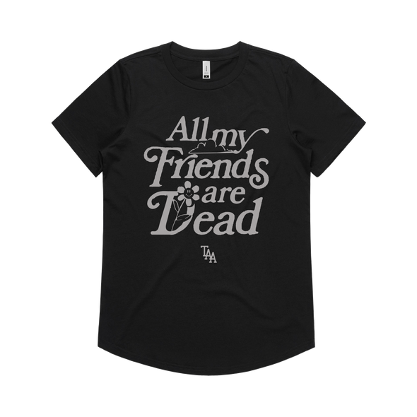 AMFAD Women's Tee (Black)