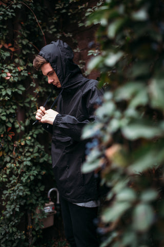 AS Colour Windbreaker (Black)