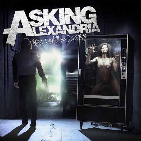 "Asking Alexandria merch From Death To Destiny (12"" Vinyl)"