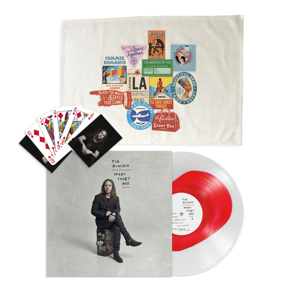 Apart Together Bundle #2 (Ultra Clear w/ Opaque Red) // PREORDER