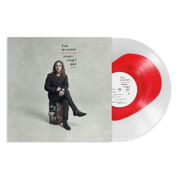 "Apart Together 12"" Vinyl (Ultra Clear w/ Opaque Red) // PREORDER"