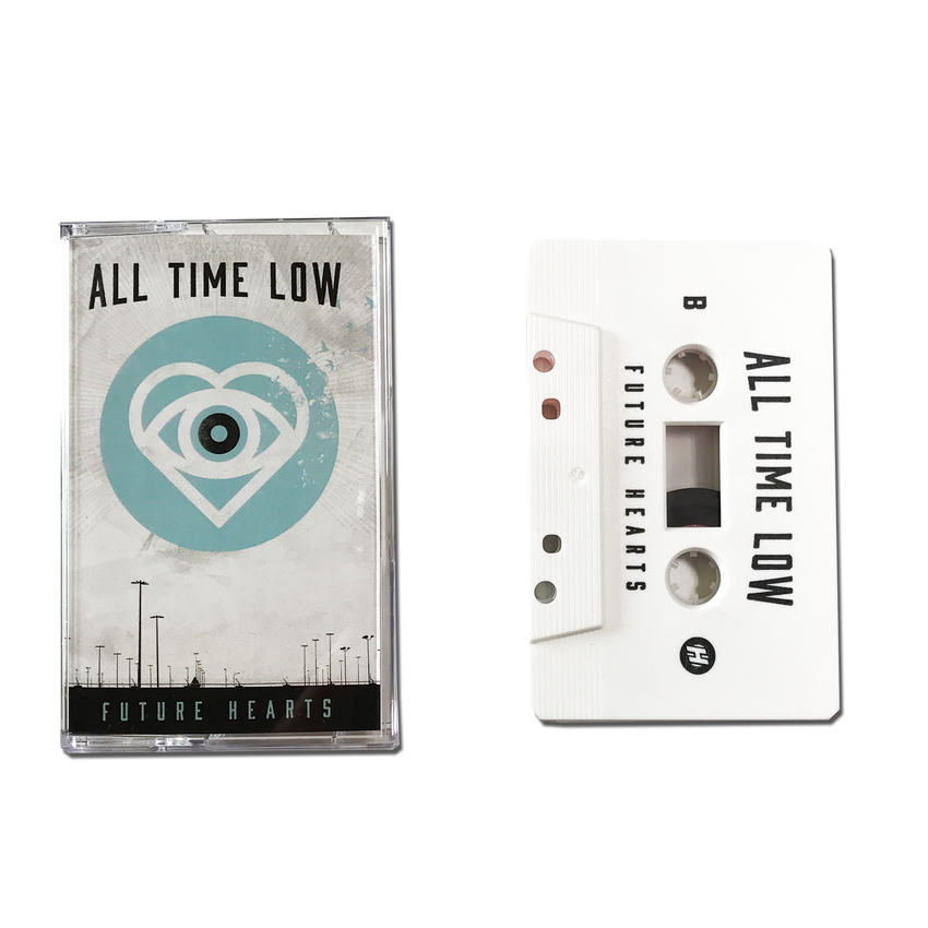 All Time Low Official Merch - Future Hearts (Cassette)