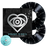 All Time Low Official Merch - Straight To DVD II: Past, Present and Future Hearts 2LP + DVD (Black w/ Silver Splatter)