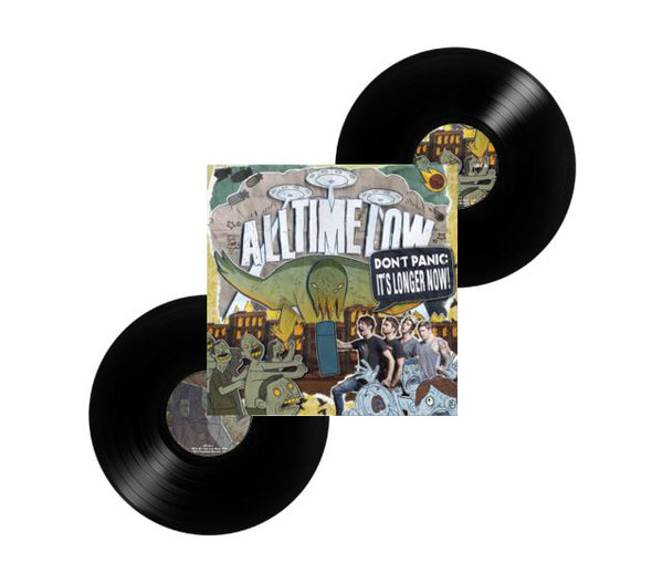 "All Time Low Official Merch - Don't Panic: It's Longer Now (12"" Black Vinyl)"