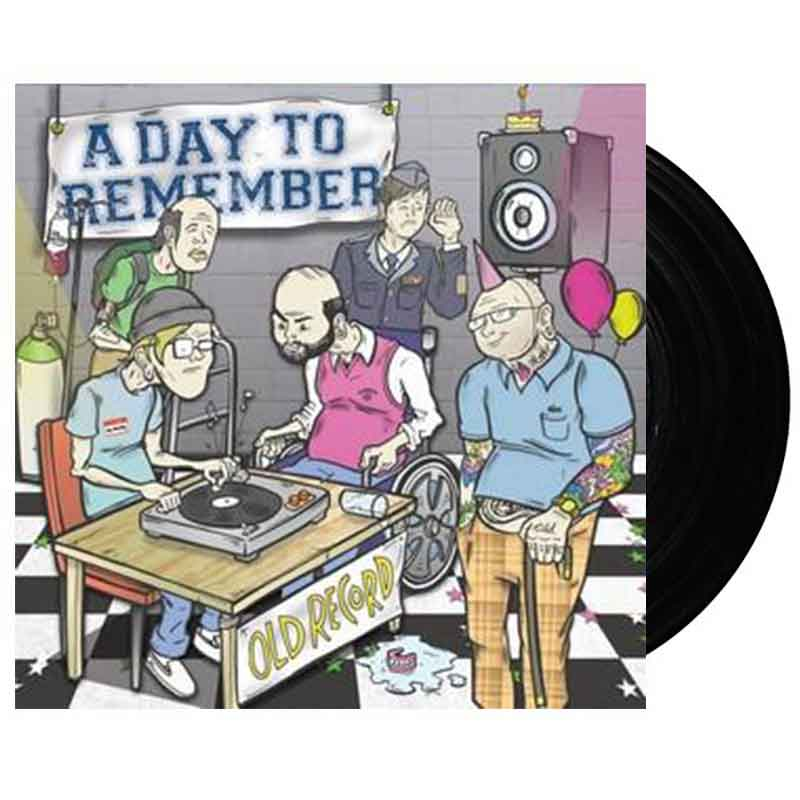 "A Day To Remember - Old Record (12"" Vinyl) (472680667)"