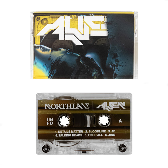 Alien Cassette (Clear with Gold Foil Liner)
