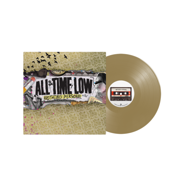 "Nothing Personal 12"" Vinyl (Gold)"