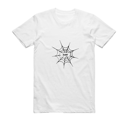 Preorder // Web Tee (White) + Digital Download