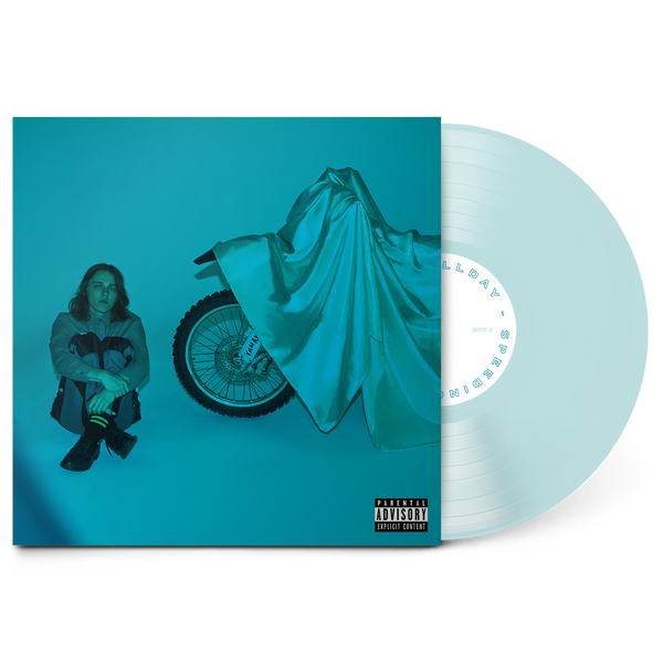 "Speeding 12"" Vinyl (Transparent Blue)"