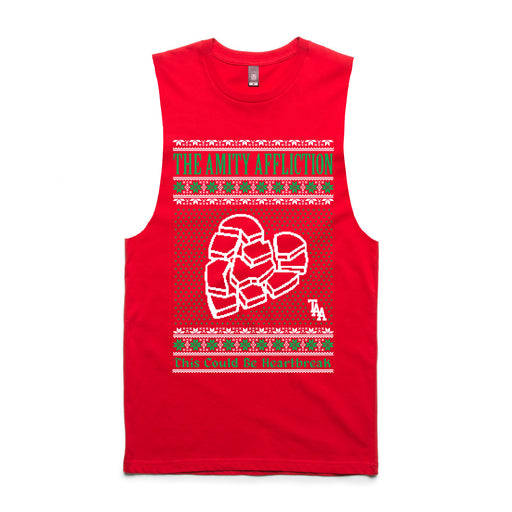 Heartbreak Xmas Sleeveless (Red)