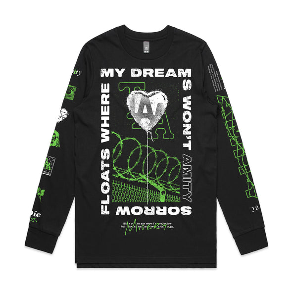 Misery Long Sleeve (Black)