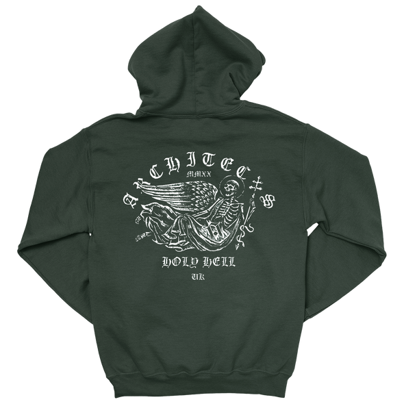 Skeleton Hoodie (Forest Green)