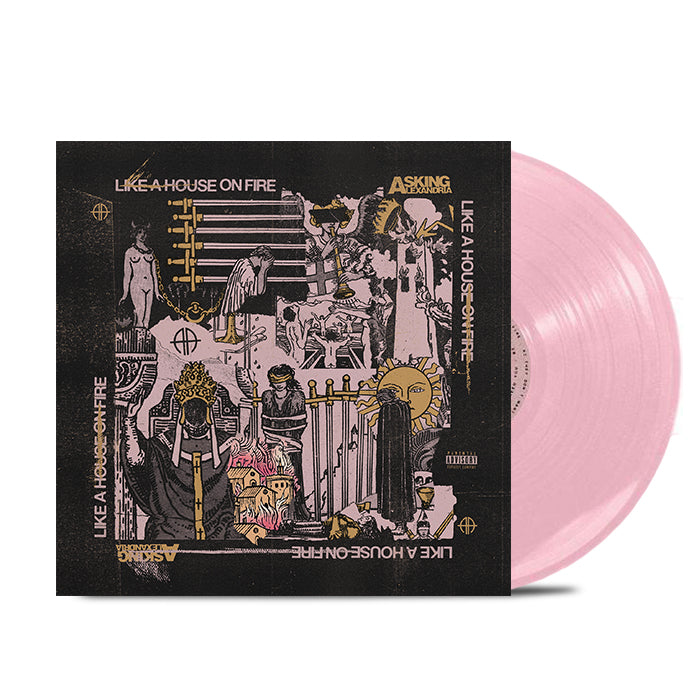 Like A House On Fire 2LP (Limited Edition Pink Vinyl)