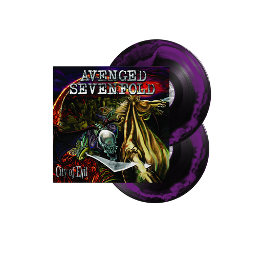 "City Of Evil 12"" Vinyl ( Black / Purple Smash)"