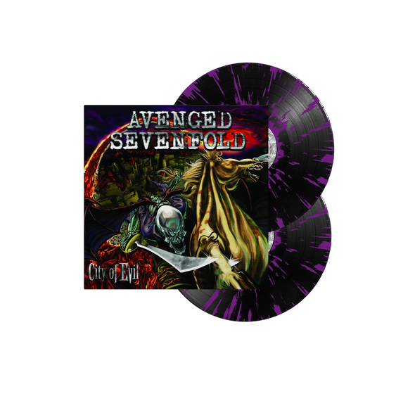 "City Of Evil 12"" Vinyl (Black w/ Purple Splatter)"