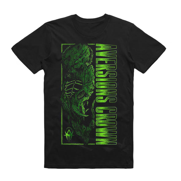 Green Monster Tee (Black)
