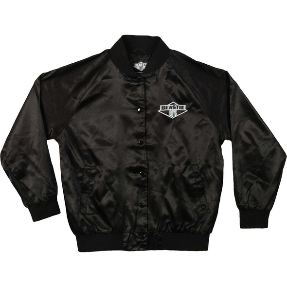 Jr Diamond Satin Jacket (Black)