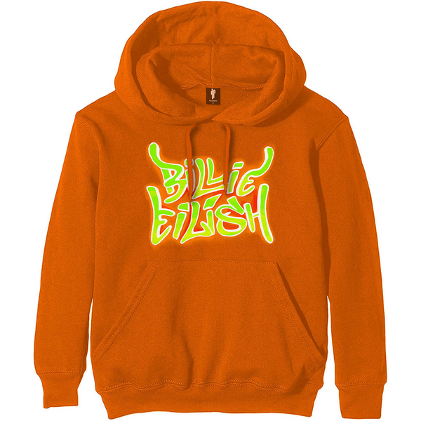Airbrush Flames Hoodie (Orange)