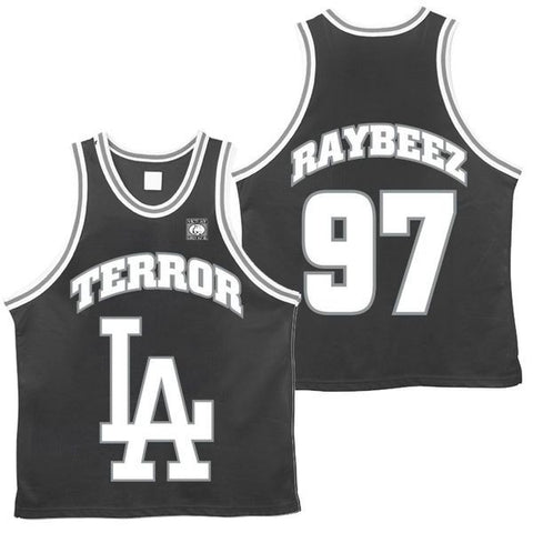 Terror Official Merch - Terror LA (Basketball Jersey)