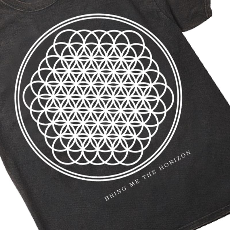 Sempiternal Tee (Black Vintage Wash)