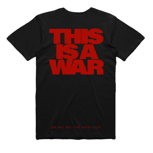 This Is A War Tee (Black)