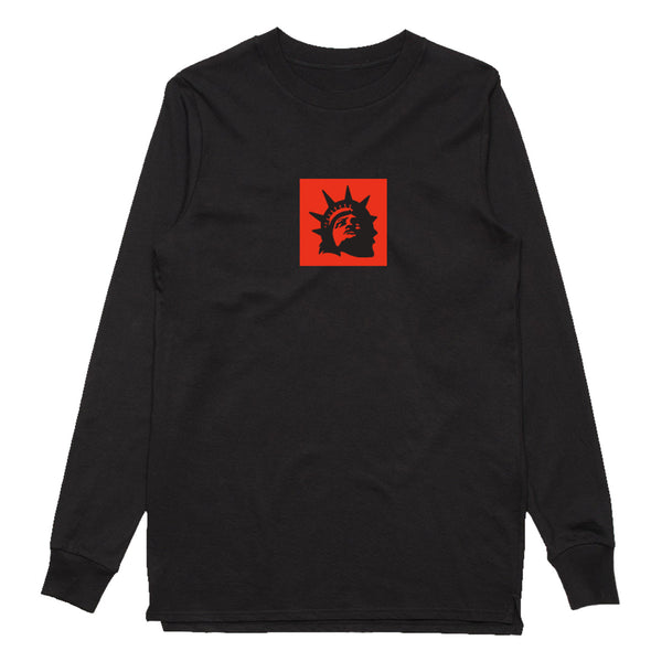 Brand Square Long Sleeve (Black)