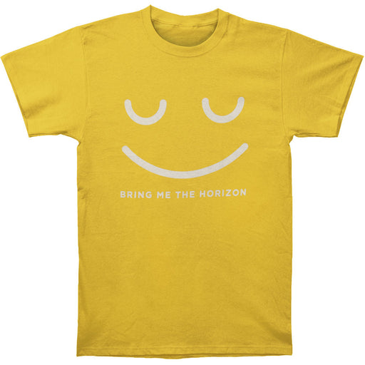 Happy Face Tee (Gold)