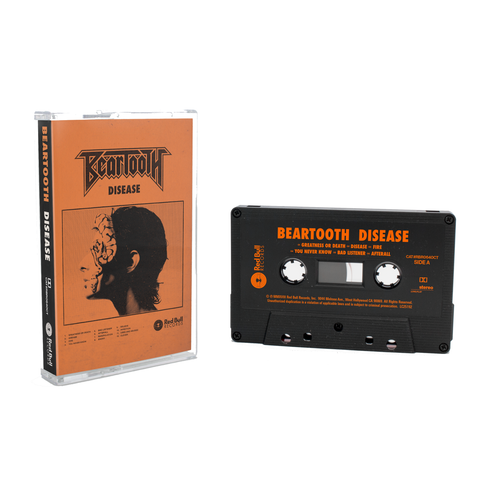 Beartooth // Disease (Black Cassette Tape)
