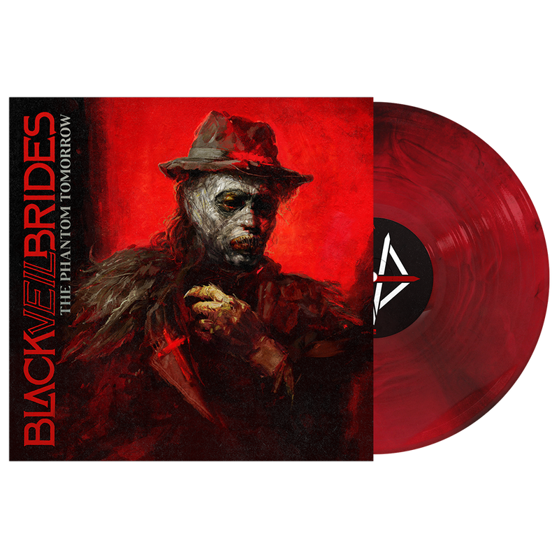 "The Phantom Tomorrow 12"" Vinyl (Crimson Skies - Transparent Red & Black Galaxy)"