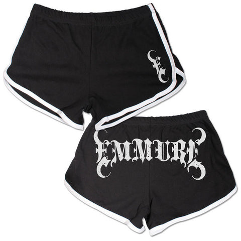 Emmure Official Merch - Emmure Logo (Booty Shorts)