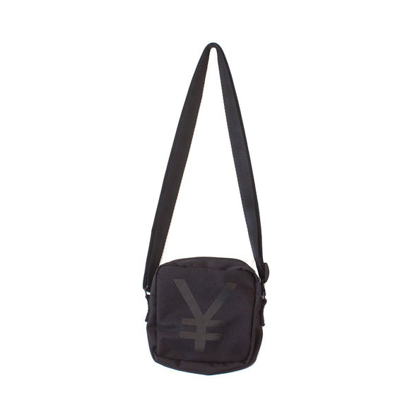 ¥€$ Embroidered Bag (Black)
